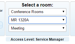 Science Division Room Reservation System — Science Division Forum